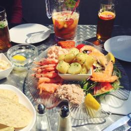 Seafood Platter at The Anchor Inn Hastings